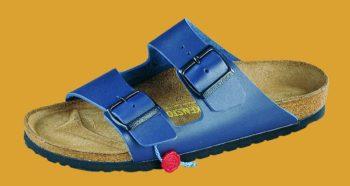 BIRKO-FLOR Sandalen, blau